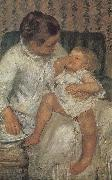 Mary Cassatt Mothe helping children a bath oil painting picture wholesale